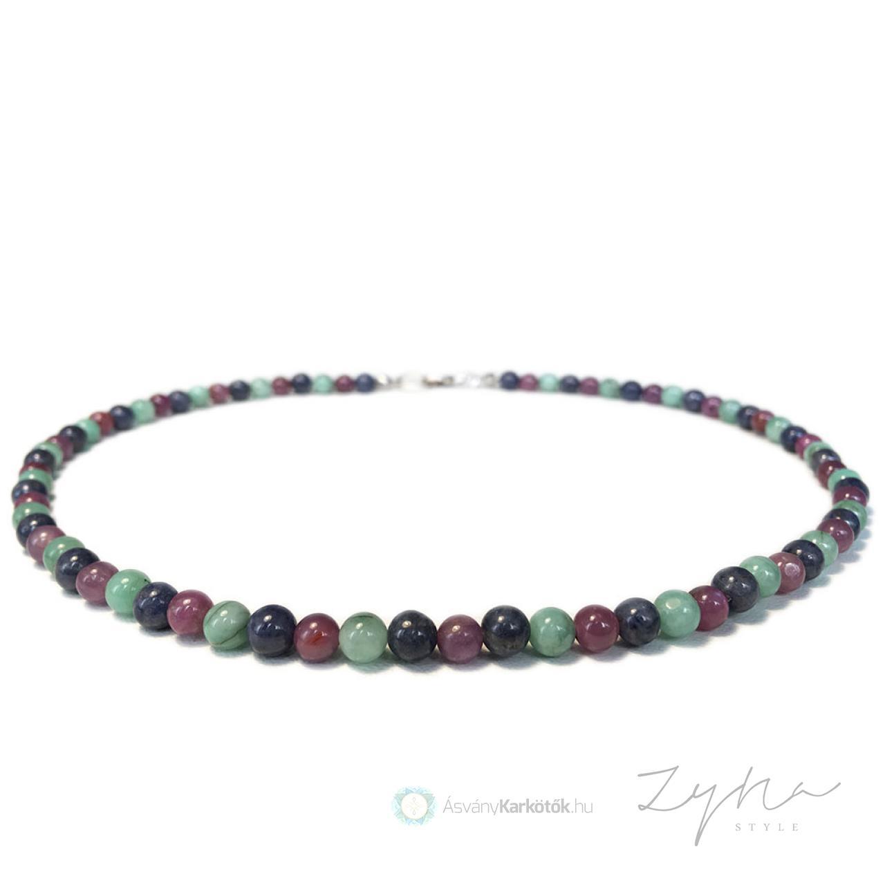 c81e06469 Drágakő nyaklánc smaragddal